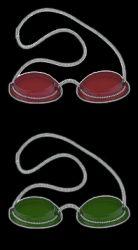 Solariumbrille mit Gummizug