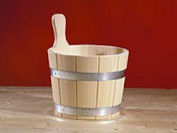 Saunakübel mit PVC-Einsatz, 5 liter